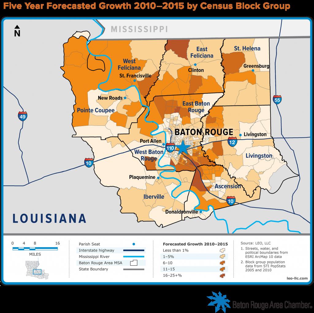Regional Maps Baton Rouge Area Chamber BRAC